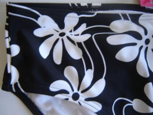RESORT High Waist Black White Bikini Bottoms UK Size 22  24 NEW