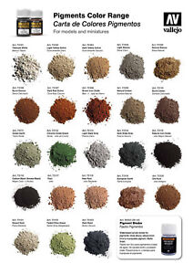 Vallejo-35ml-Weathering-Pigments-Color-Range-Pick-From-Full-Range-Of-Colours