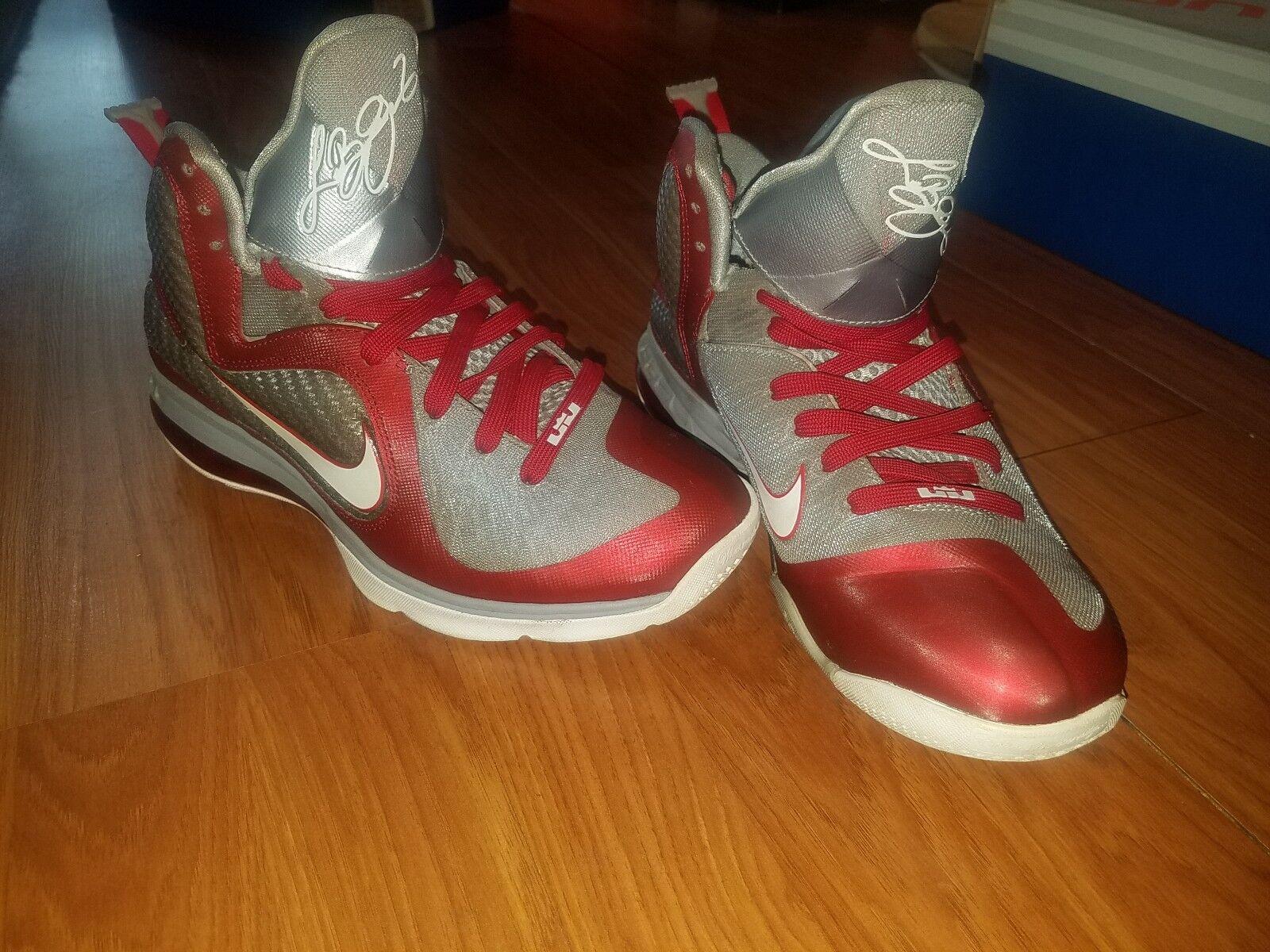 d4cfb75db727 Nike LeBron 9 Ohio State 469764-601 Size Size Size 8 Rare. eeefe4 ...