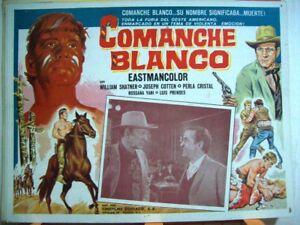 COMANCHE-BLANCO-WILLIAM-SHATNER-1968-OPTIONAL-SET-425