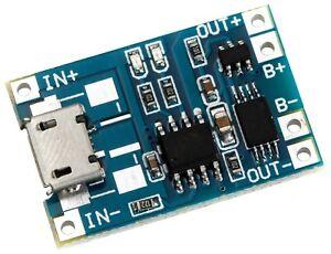 TP4056 5V 1A Micro USB Schnittstelle Ladegerät Modul Lipo lithium Batterielade
