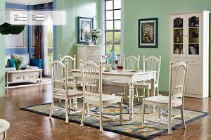 Dettagli su Classico Coloniale Stile Antico Ess Rifiniture Tavolo + 6 Sedie  Sala da Pranzo
