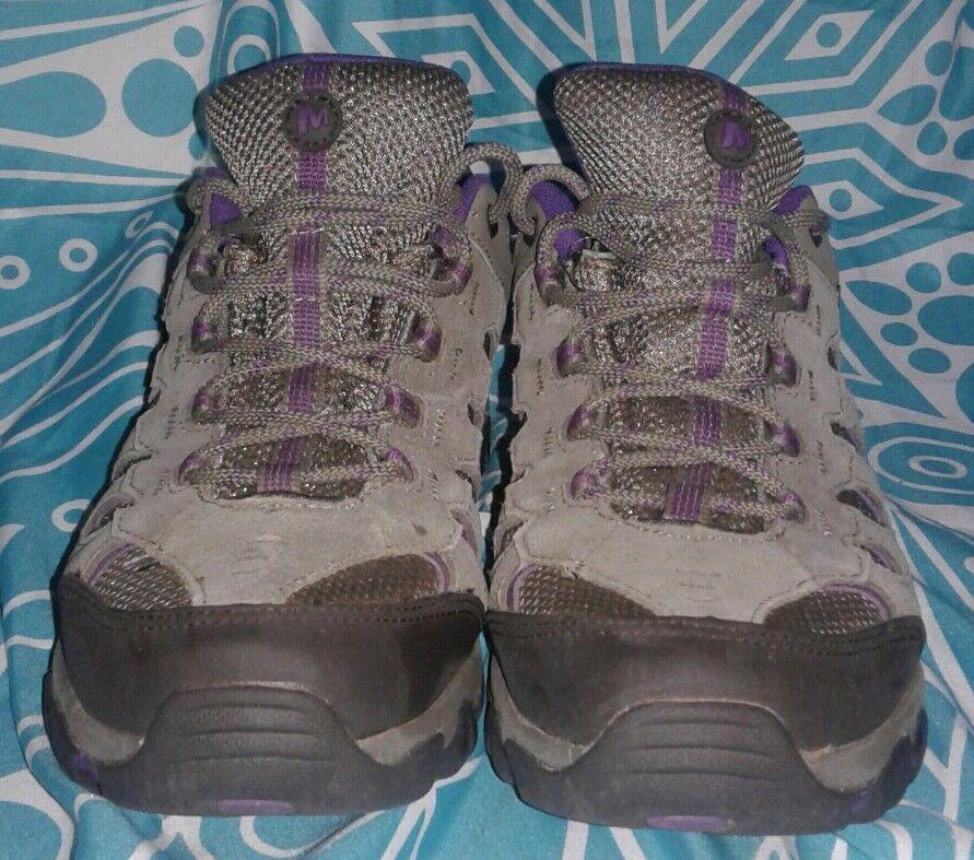 Femmes Merrell Sélectionner sec Brindle violet Perforhommece Chaussure Sz 9