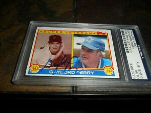 1983-GAYLORD-PERRY-TOPPS-464-PSA-DNA-SIGNED-Autograph-HOF-SEATTLE-MARINERS