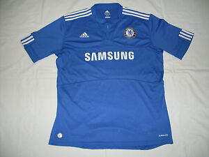 Maglia-Chelsea-Home-Shirt-Jersey-2009-2010-Adidas-Samsung-Tg-XL