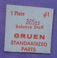 Gruen 365ss Balance Staff Gruen Vintage Watch Part 1 Gruen Watch
