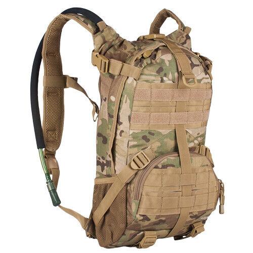 Tactical Military OCP Elite Multicam Camo Hydration Pack Fox 56-269
