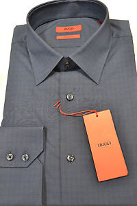 HUGO-BOSS-Camicia-regular-fit-a-quadretti-stiro-facile-039-C-Enzo-039-by-HUGO