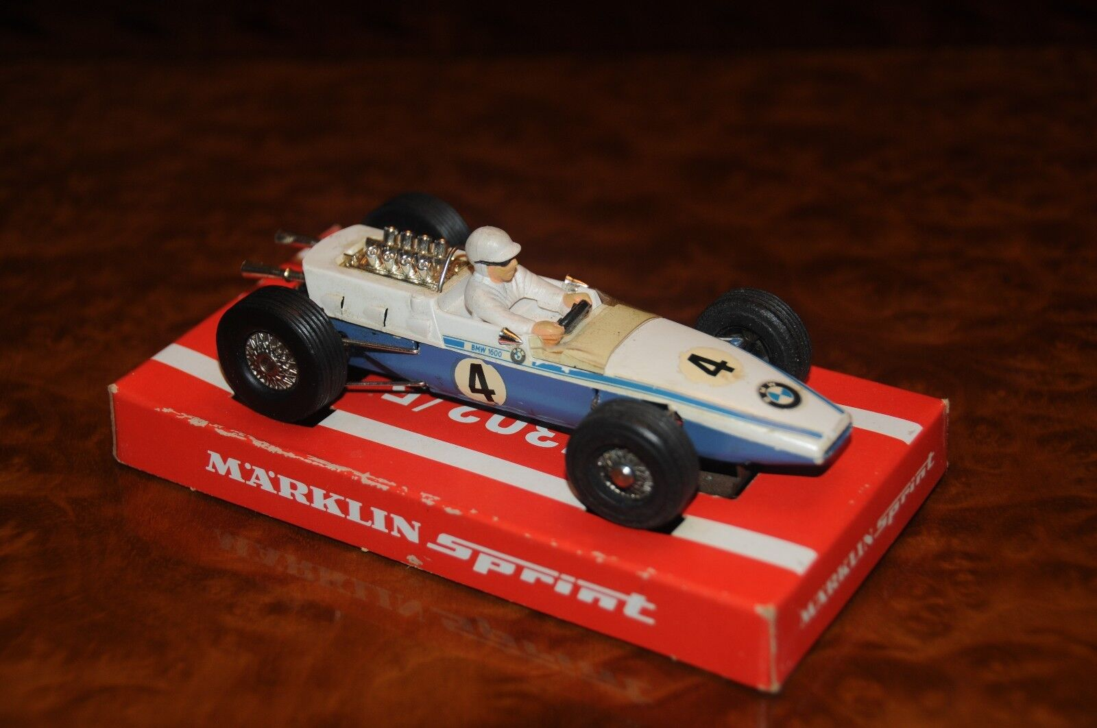 Vintage Marklin Sprint   BMW 1600 Formel 2 Slot Car   Scale 1 32   1306