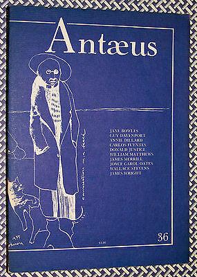 Antaeus Lit Journal, JOYCE CAROL OATES, BOWLES, DILLARD