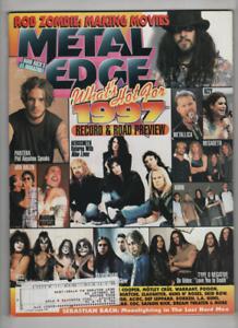 Metal Edge Mag Ozzy Osbourne Pantera Metallica Korn April 1997 120420nonr