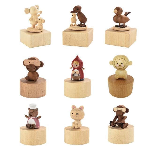 Rotierende Tier Spieluhr Spieldose Musikspieldose Geburtstag Geschenk Dekor
