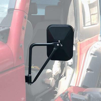 Doors off Mirrors Doorless Mirrors Fits Jeep Wrangler Rear View Mirrors Quick Release Mirrors Fits Jeep JK JKU LJ CJ TJ Shake Proof Side Mirrors 1 Pair