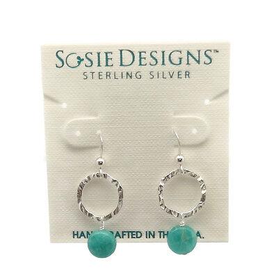"""SOSIE DESIGNS Freshwater Pearl Sterling Silver Drop Dangle Hook Earrings 1 1//4/"""""""