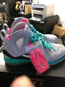 new arrival 6e1f3 eab47 Details about Nike Lebron South Beach xI DS 12 Miami Night