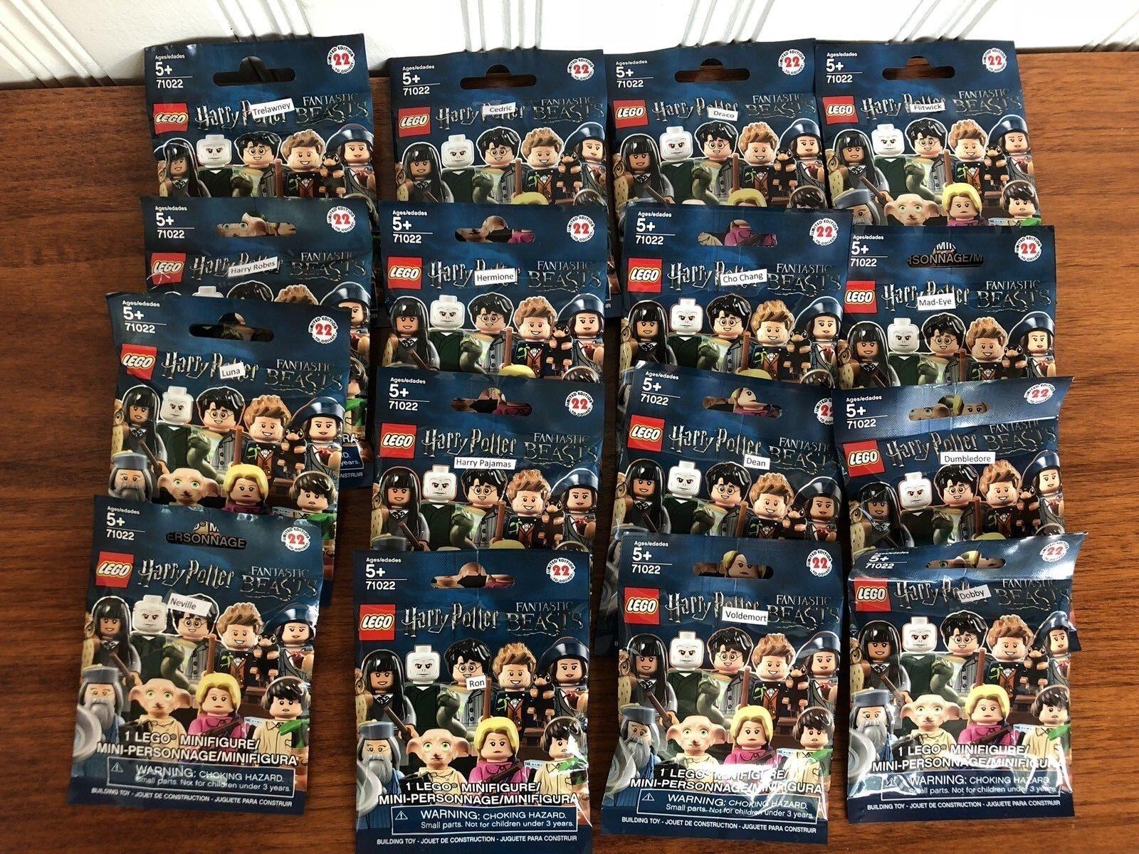 per poco costoso LEGO 71022 Harry Potter Potter Potter Minicifras Sealed Set of 16    gratuito Shipping  vendita online