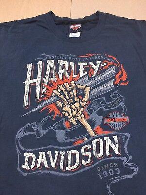 """Harley-Davidson Men/'s Black Short Sleeve /""""boared Crest/"""" Hog pig shirt XL"""