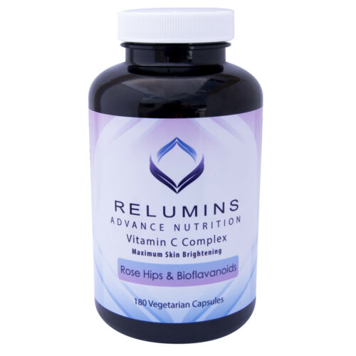 10 Bottles Relumins Advance Vitamin C MAX Skin Whitening Complex W Rose Hips