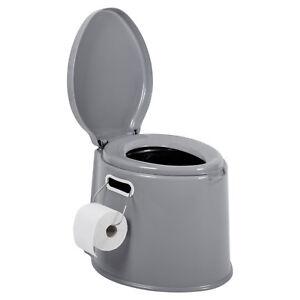 Camping-Toilette-7-Liter-Campingtoilette-Mobil-WC-Eimertoilette-Reisetoilette