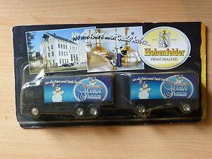 Modellino-autocarro-per-birra-Rimorchio-trasporto-MERCEDES-ACTROS-HOHENFELDER