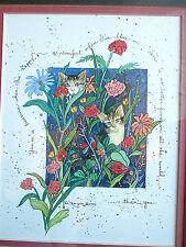 Signed D Morgan You're A Treasure When... 1993 Print Artwork Framed