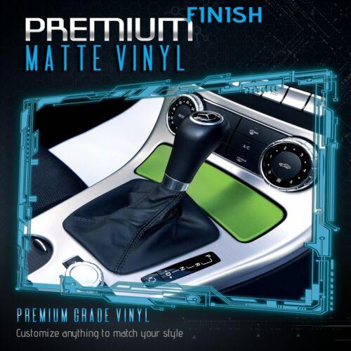 Premium Matte Flat Green Vinyl Wrap Film Sticker Decal Bubble Free Air Release