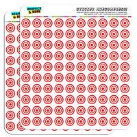 Target Sniper Scope Bullseye 0.5 Scrapbooking Crafting Stickers