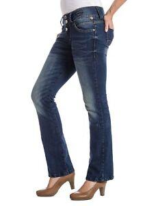 Timezone-Damen-Jeans-Hose-Greta-3819-blau-Bootcut-Neuware-Groesse-waehlbar-LA