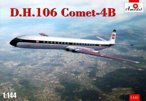 Amodel-1448-1-144-De-Havilland-D-H-Comet-4B-scale-plastic-model-kit