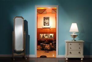 Door-Mural-Motorhead-Recording-Studio-View-Wall-Stickers-Decal-Wallpaper-186