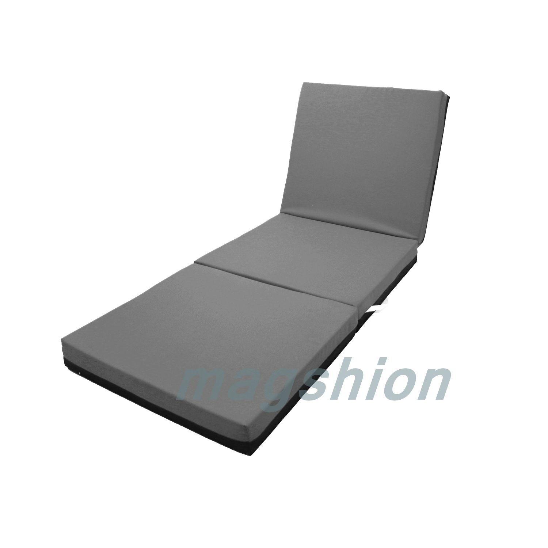 Comfort Firm Memory Foam Folding Mattress Trifold Fold