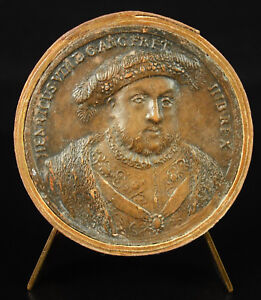 Intelligent Médaille Henri Viii Roi D'angleterre Et Hib Ap Jean Dassier Xviiie England Medal
