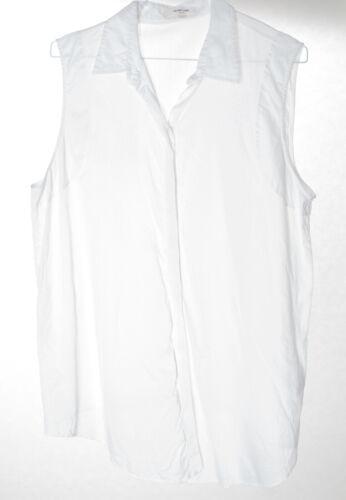 Damen Bluse Baumwolle Weiß In Shirt Blouse Helmut Gr Lang L 5qSIwxzX