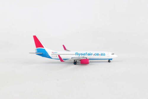 HE531085 HERPA WINGS FLYSAFAIR BOEING 737-800 1//500 DIE-CAST MODEL