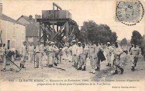 CPA 52 HAUTE MARNE MANOEUVRES DE FORTERESSE 1906 SIEGE DE LANGRES