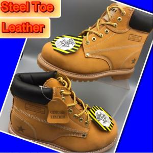 Five Star Steel Toe Genuine Leather