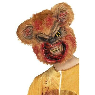 Haben Sie Einen Fragenden Verstand Zombie Teddy Maske Braunbär Horror Halloween Kostüm Zubehör