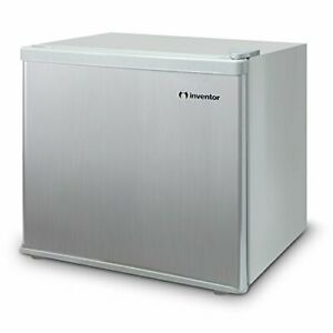 Inventor-Mini-Fridge-43L-Silver-A-Energy-Savings-Ideal-for-Bedroom