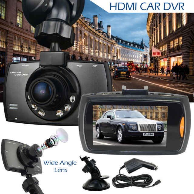 HD 1080P Auto Car DVR Camera Dash Video Recorder LCD G-sensor Night Vision GL