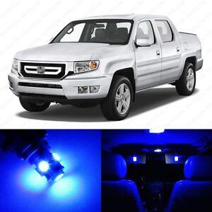 14 x ultra blue led interior lights package for 2006. Black Bedroom Furniture Sets. Home Design Ideas