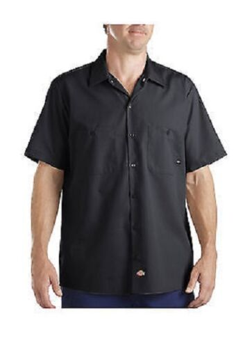 DIA DE LOS MUERTOS SUGAR SKULL ROSES /& DIAMONDS SPADES Work Shirt Dickies