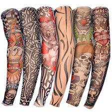 Tattoo Ärmel Skin Arm Sleeve Strümpfe Stulpe Karneval Fasching Kostüme Neu Hot