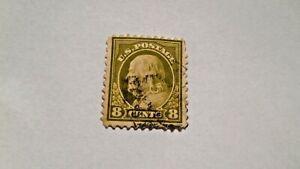 8-Cent-US-Stamp-Benjamin-Franklin-1911