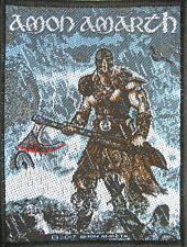 AMON AMARTH PATCH / AUFNÄHER # 19 JOMSVIKING - 10x7cm