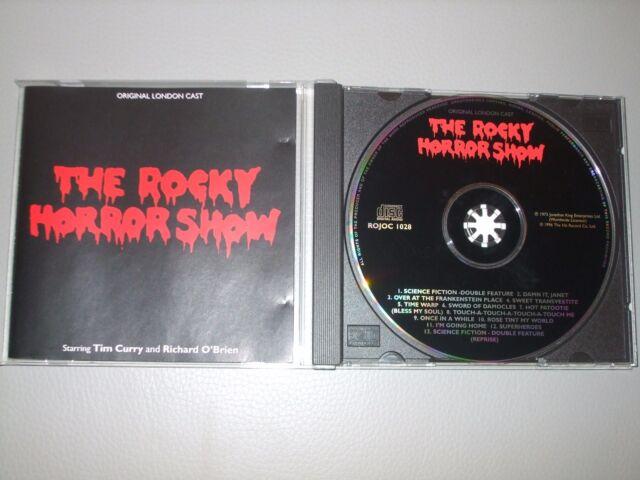 The Rocky Horror Show - Original London Cast (CD) 13 Tracks - Nr Mint  Fast Post