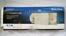 Eaton Sure Lites Led Emergency Light Sel25 Optic Nicad Battery Adjustable