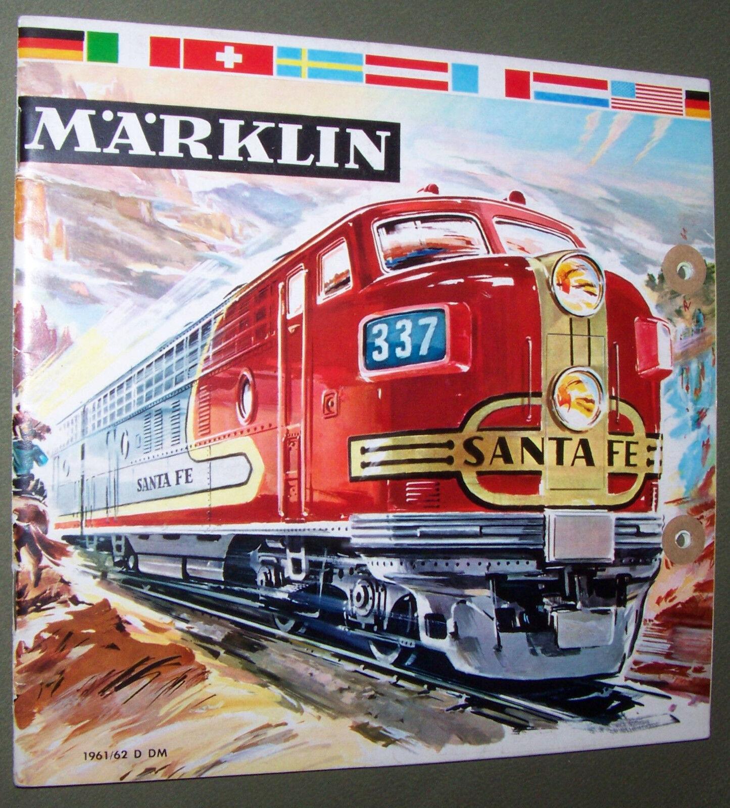 MÄRKLIN Katalog 1961 1962 D DM Gutschein 152 01 - LAN 07 61 1th 1961 62 original