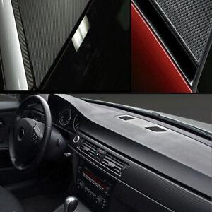 Film-Vinyle-3D-Carbone-Thermoformable-Sticker-Adhesif-Autocollant-40X100-CM-Noir