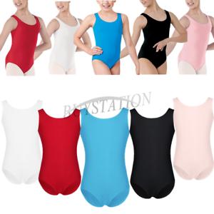 4925fd97a033 Kids Girls Ballet Dance Dress Gymnastics Leotard Sports Yoga Costume ...