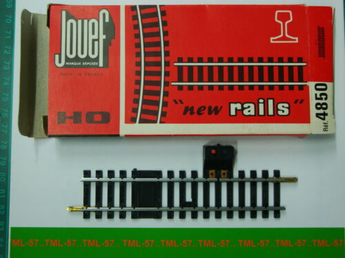 Interrupteur av prise Neuf Boite Origi Rail Droit Voie JOUEF HO Ref 4850